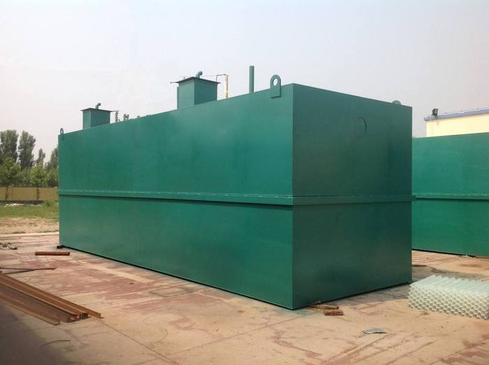 地埋式污水处理乐虎lehu的构造?